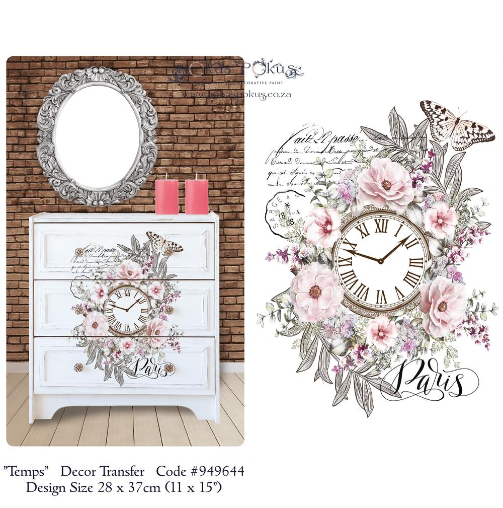 TEMPS *** HOKUS POKUS DECOR TRANSFER