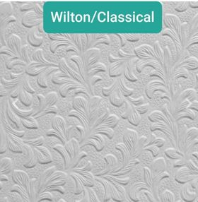 WILTON / CLASSICAL - PAINTABLE WALLPAPER