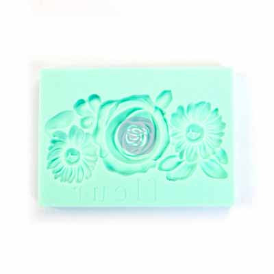 FLEUR *** IOD DECOR MOULD