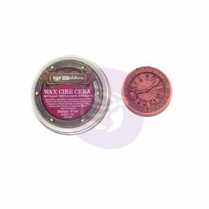 INDIAN PINK - FINN METALLIQUE WAX PASTE