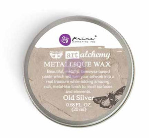 OLD SILVER - METALLIQUE WAX