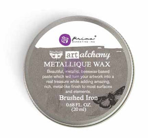 BRUSHED IRON - METALLIQUE WAX