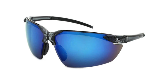 F681106UI Blue Safety Lens Multi-Layer Color Mirror Sport Sunglasses