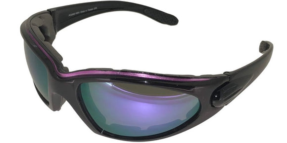 g3119b Foam Lined Purple Sunglasses