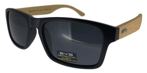 p22163k Bamboo Polarized Sunglasses