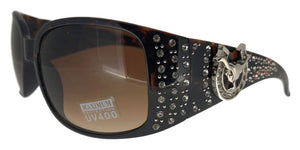 L9188ez Ram Brown Cowgirl Sunglasses