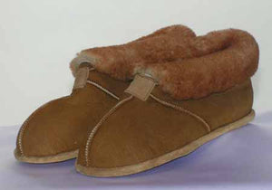Booty Slipper - Leather Soft Sole - Flat Sole  (Women's and Men's)