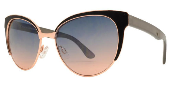 F7353EZ Grey Cat Eye Sunglasses