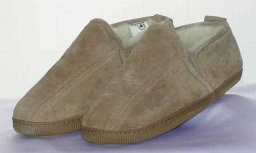 Romeo Slipper - Rubber Sole (Men's)