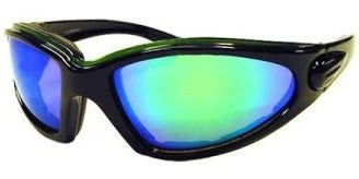 g3119b Foam Lined Green Sunglasses