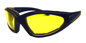 g3119b Foam-Lined Yellow Sunglasses