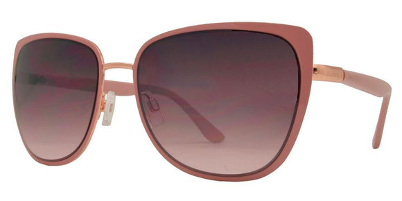 F7147 Pink Cat Eye Sunglasses