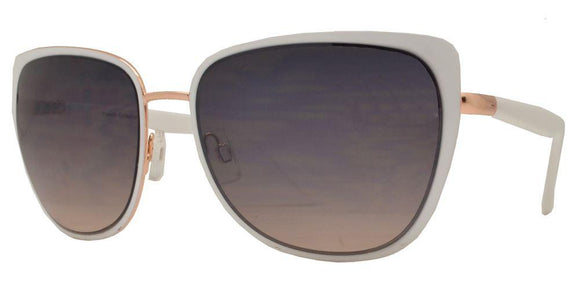 F7147 Sand Cat Eye Sunglasses