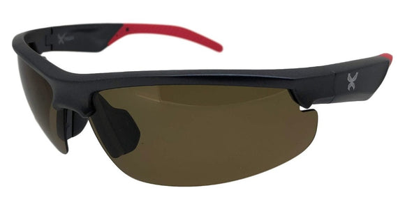 P681133UI Brown Sport Polarized TAC Lens Sunglasses