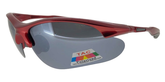 P7395QS Red Sport Polarized Sunglasses