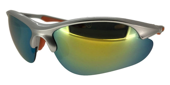 F5242QS Yellow/Silver Sport Sunglasses
