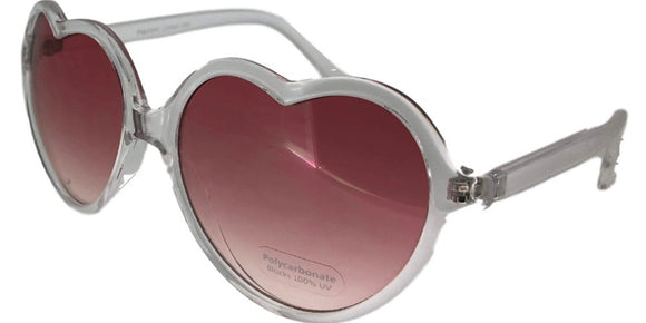 6-5950B Heart Sunglasses