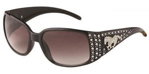 L9469qs Horse Brown Cowgirl Sunglasses