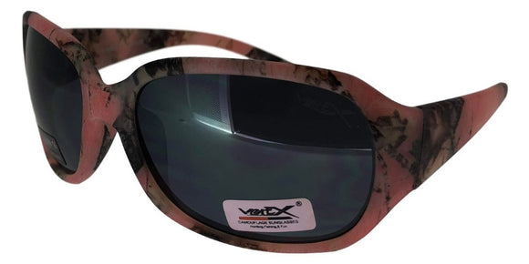 K67128QM Pink Camo Kids Sunglasses