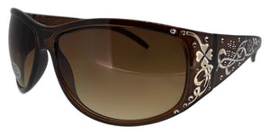 F5241QS Brown Design Sunglasses