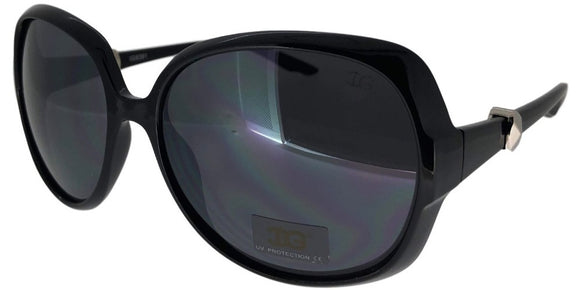 6-0402 Black Ladies Sunglasses