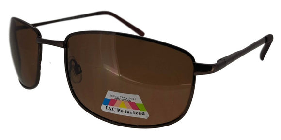 P321018 Brown Classic Polarized Sunglasses