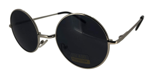 F0514 Black Round Sunglasses
