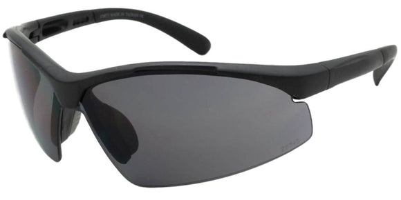 F681184UI Black Safety Lens Sport Sunglasses