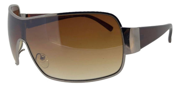 f512247b Brown One Piece Fashion Sunglasses
