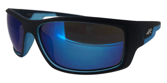 F973622KZ Blue Soft Touch Sport Sunglasses