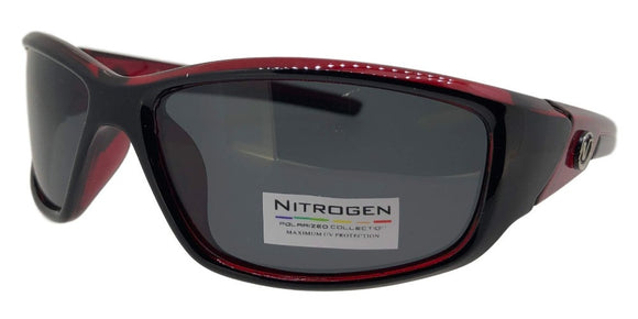 P8154KZ Red Sport Polarized Sunglasses