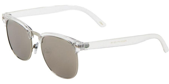 F41349 Silver Mirror Soho Sunglasses