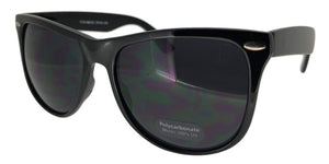 6-3951B Black Wayfarer Sunglasses