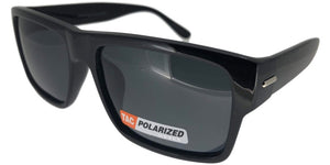 p651905u Black Wayfarer Polarized Sunglasses