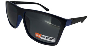 p652110u Blue Wayfarer Polarized TAC Lens Sunglasses