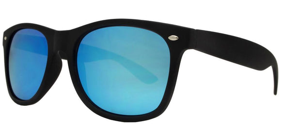 prv8221ez Blue Wayfarer Polarized Multi-Layer Color Mirror Lens