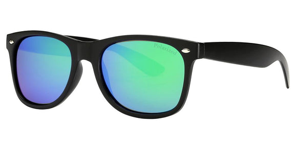 prv8221ez Green Wayfarer Polarized Multi-Layer Color Mirror Lens