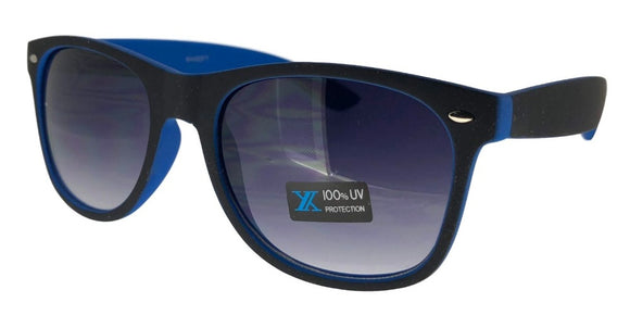 6-9557EZ Blue Shadow Wayfarer Sunglasses
