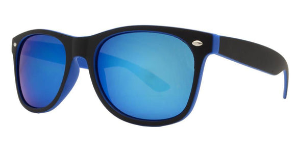 6RV-9557EZ Blue Shadow Wayfarer Sunglasses