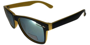 6RV-153KZ Yellow Shadow Wayfarer Sunglasses