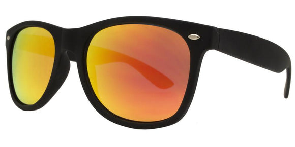 F8221EZ Red Soft Coat Wayfarer Sunglasses