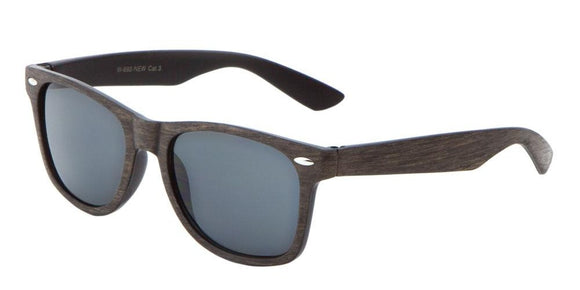 F703GG Brown Wood Wayfarer Sunglasses