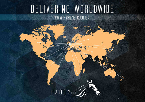 Worldwide delivery Hardy Equestrian