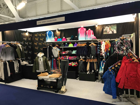 Hardy Equestrian trade stands