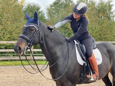 Hardy Equestrian Black Zip Base Layer