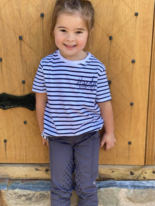 Hardy Equestrian Children's Striped T-shirt 3