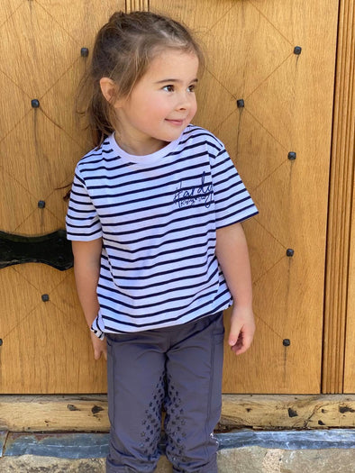 Hardy Equestrian Children's Striped T-shirt 2