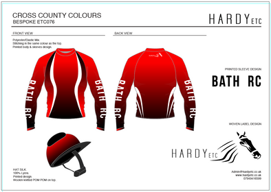 Bath Riding Club XC Set