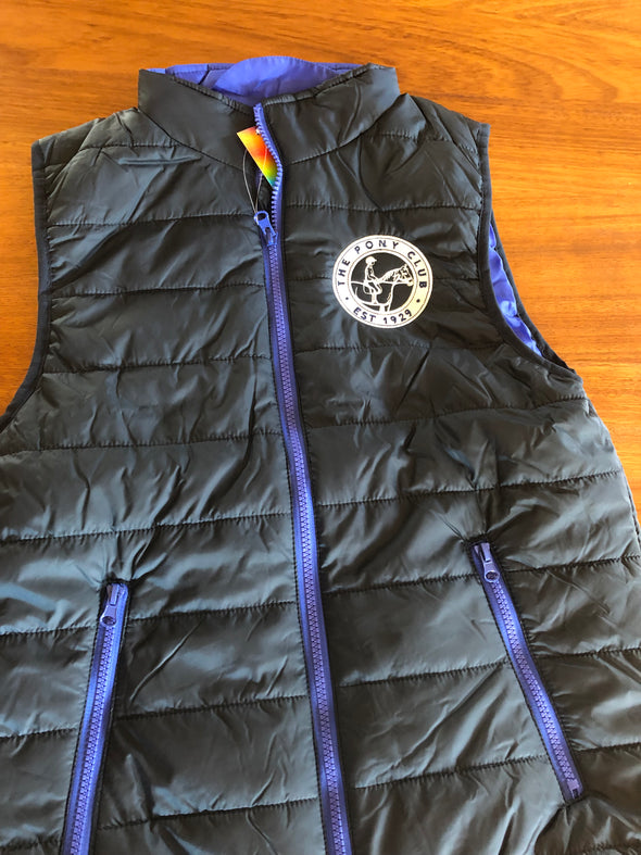 Linlithgow & Stirlingshire Pony Club Children's Padded Gilet
