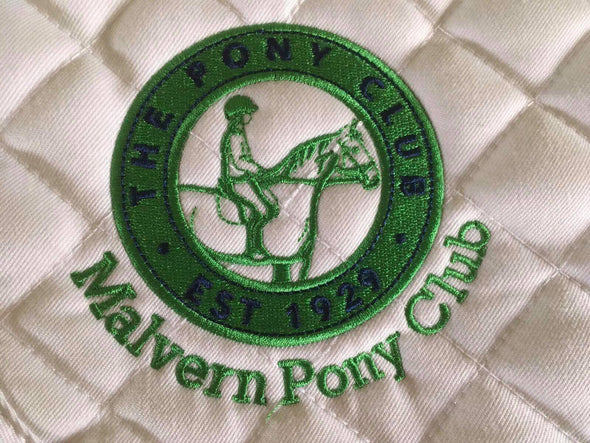 Malvern Pony Club Saddle Pad 1